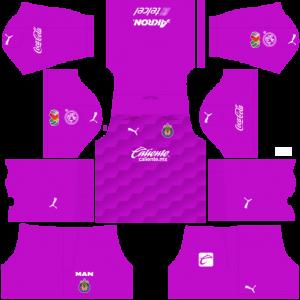 Dream League Soccer DLS 512×512 Chivas De Guadalajara GoalKeeper Away Kits