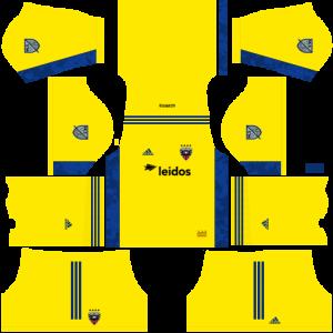 Dream League Soccer DLS 512×512 DC United GoalKeeper Away Kits