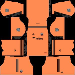 Dream League Soccer DLS 512×512 DC United GoalKeeper Home Kits