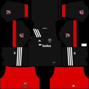 Dream League Soccer DLS 512×512 DC United Home Kits