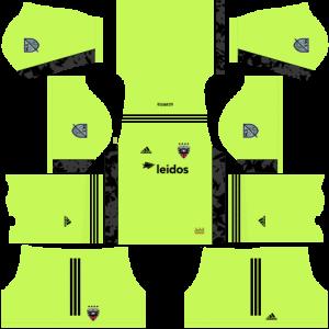 Dream League Soccer DLS 512×512 DC United Third Kits