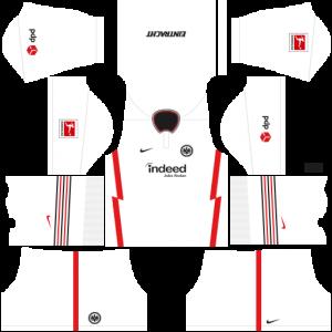 Dream League Soccer DLS 512×512 Eintracht Frankfurt Away Kits