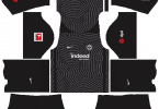 Dream League Soccer DLS 512×512 Eintracht Frankfurt GoalKeeper Away Kits