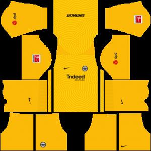 Dream League Soccer DLS 512×512 Eintracht Frankfurt GoalKeeper Third Kits