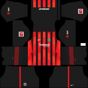 Dream League Soccer DLS 512×512 Eintracht Frankfurt Home Kits