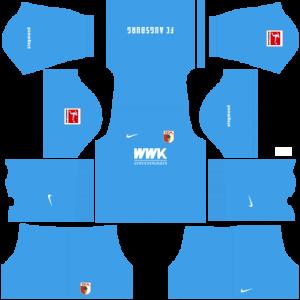 Dream League Soccer DLS 512×512 FC Augsburg GoalKeeper Away Kits
