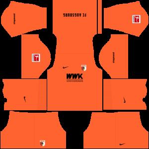 Dream League Soccer DLS 512×512 FC Augsburg GoalKeeper Third Kits