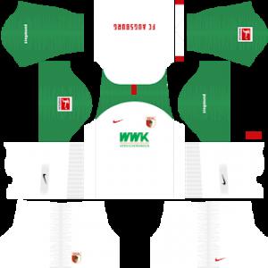 Dream League Soccer DLS 512×512 FC Augsburg Home Kits