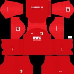Dream League Soccer DLS 512×512 FC Augsburg Third Kits