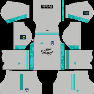 Dream League Soccer DLS 512×512 FC Bordeaux GoalKeeper Home Kits