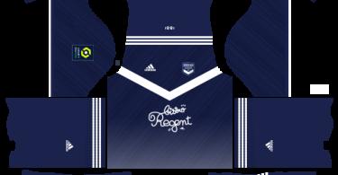 Dream League Soccer DLS 512×512 FC Bordeaux Home Kits