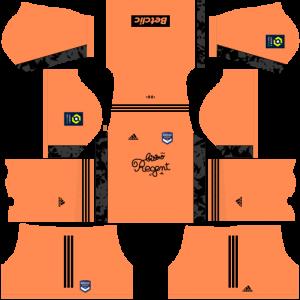 Dream League Soccer DLS 512×512 FC Bordeaux Third Kits
