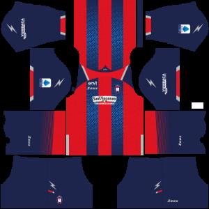 Dream League Soccer DLS 512×512 FC Crotone Kits Home Kits
