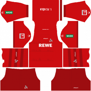 Dream League Soccer DLS 512×512 FC Köln Away Kits
