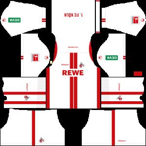 Dream League Soccer DLS 512×512 FC Köln Home Kits