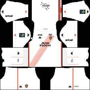 Dream League Soccer DLS 512×512 FC Lorient Away Kits