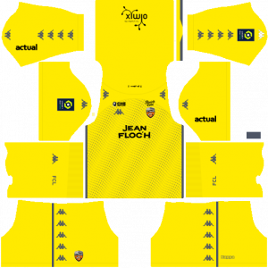 Dream League Soccer DLS 512×512 FC Lorient GoalKeeper Third Kits