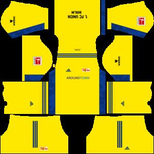 Dream League Soccer DLS 512×512 FC Union Berlin GoalKeeper Away Kits