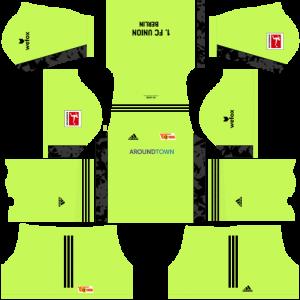Dream League Soccer DLS 512×512 FC Union Berlin GoalKeeper Home Kits