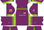 Dream League Soccer DLS 512×512 FC Union Berlin GoalKeeper Third Kits
