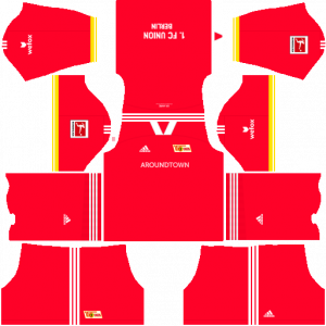 Dream League Soccer DLS 512×512 FC Union Berlin Home Kits