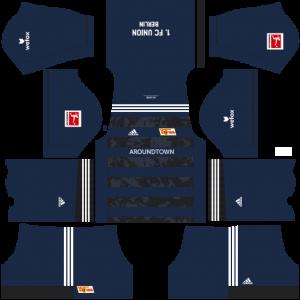 Dream League Soccer DLS 512×512 FC Union Berlin Third Kits