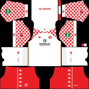 Dream League Soccer DLS 512×512 FSV Mainz Away Kits