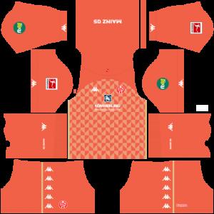 Dream League Soccer DLS 512×512 FSV Mainz GoalKeeper Away Kits