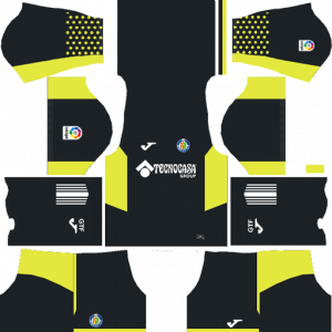 Dream League Soccer DLS 512×512 Getafe CF GoalKeeper Home Kits
