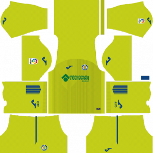 Dream League Soccer DLS 512×512 Getafe CF Third Kits