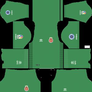 Dream League Soccer DLS 512×512 Girona FC GoalKeeper Away Kits
