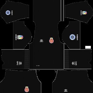 Dream League Soccer DLS 512×512 Girona FC GoalKeeper Home Kits