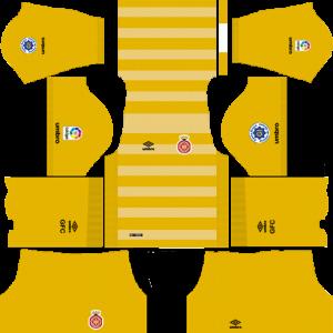 Dream League Soccer DLS 512×512 Girona FC Third Kits