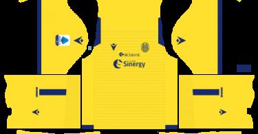 Dream League Soccer DLS 512×512 Hellas Verona FC Away Kits