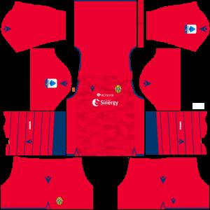 Dream League Soccer DLS 512×512 Hellas Verona FC GoalKeeper Third Kits