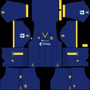 Dream League Soccer DLS 512×512 Hellas Verona FC Home Kits