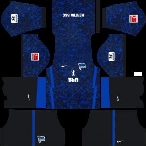 Dream League Soccer DLS 512×512 Hertha BSC Away Kits