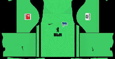 Dream League Soccer DLS 512×512 Hertha BSC GoalKeeper Home Kits