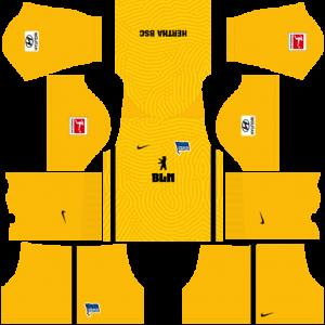 Dream League Soccer DLS 512×512 Hertha BSC GoalKeeper Third Kits