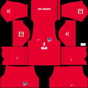 Dream League Soccer DLS 512×512 Hertha BSC Third Kits