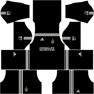 Dream League Soccer DLS 512×512 LA Galaxy GoalKeeper Home Kits