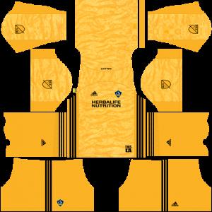 Dream League Soccer DLS 512×512 LA Galaxy GoalKeeper Third Kits