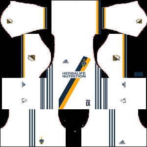 Dream League Soccer DLS 512×512 LA Galaxy Home Kits