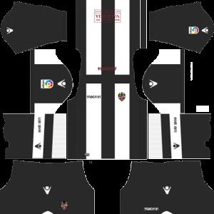 Dream League Soccer DLS 512×512 Levante UD Away Kits