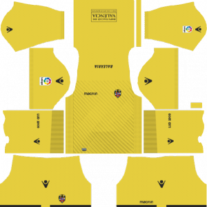 Dream League Soccer DLS 512×512 Levante UD GoalKeeper Away Kits