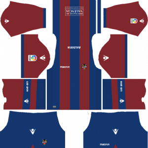 Dream League Soccer DLS 512×512 Levante UD Home Kits