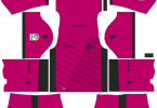 Dream League Soccer DLS 512×512 Levante UD Third Kits