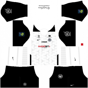 Dream League Soccer DLS 512×512 Montpellier HSC Away Kits