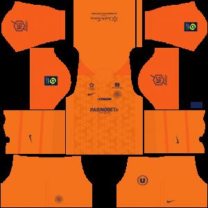Dream League Soccer DLS 512×512 Montpellier HSC Third Kits