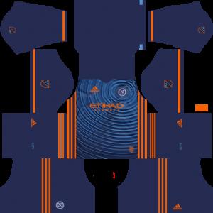 Dream League Soccer DLS 512×512 New York City Away Kits
